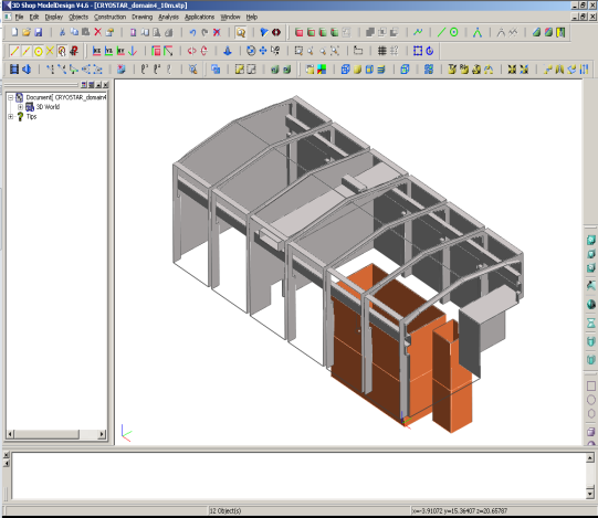 fluidyn-ventex 能够帮助建筑师和工程师在设计阶段优化泄漏传感器